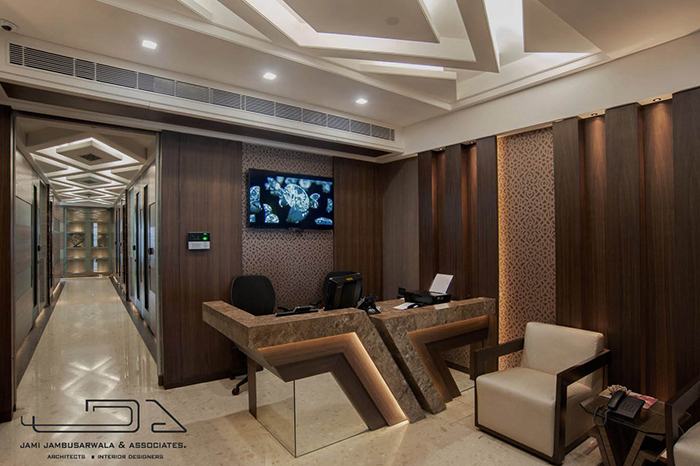 Delicieux Interior Design Of A Diamond Trading Office