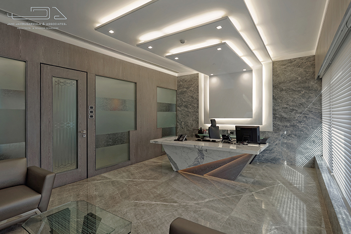 Interior Design Of A Diamond Trading Office