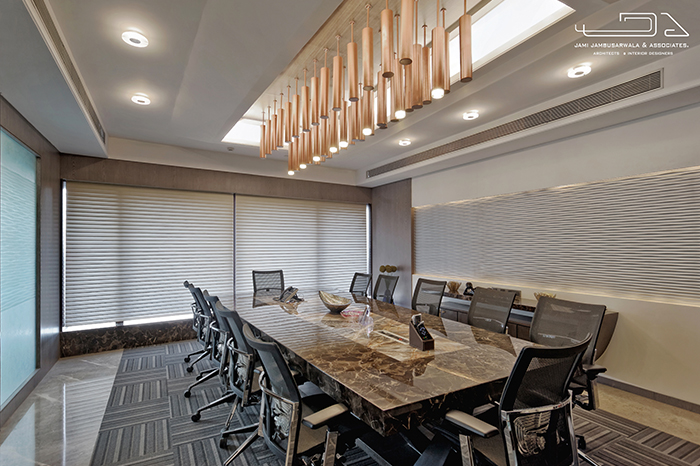 The 12 Seater Boardroom Located Next To The Directoru0027s Cabin Overlooking A  Breathtaking View Of The Business Hub Of Bandra Kurla Complex, Has Been  Designed ...